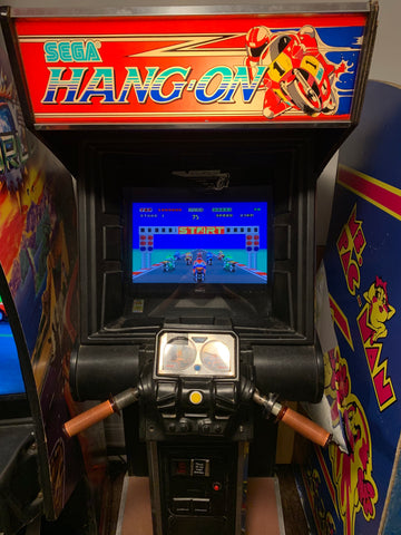 Hang-On Arcade Machine