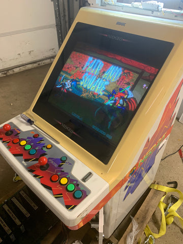 Neo Geo NEO 25 Candy Cab Arcade Game