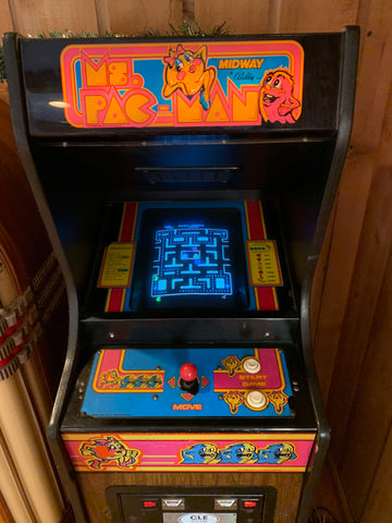 Ms Pac-Man Cabaret Arcade Machine