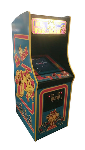 60-1 Multicade Ms Pac-Man Arcade Machine
