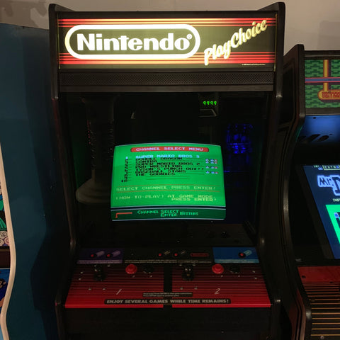 Play Choice Single Screen Arcade Machine