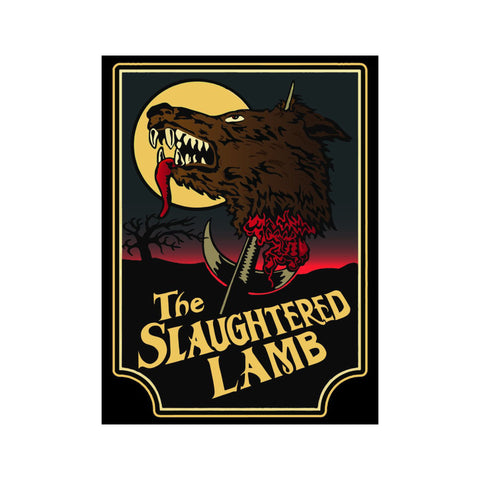 Slaughtered Lamb Sign from American Werewolf in London