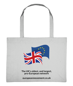 European Movement Grey Shopping Bag (Limited Edition)