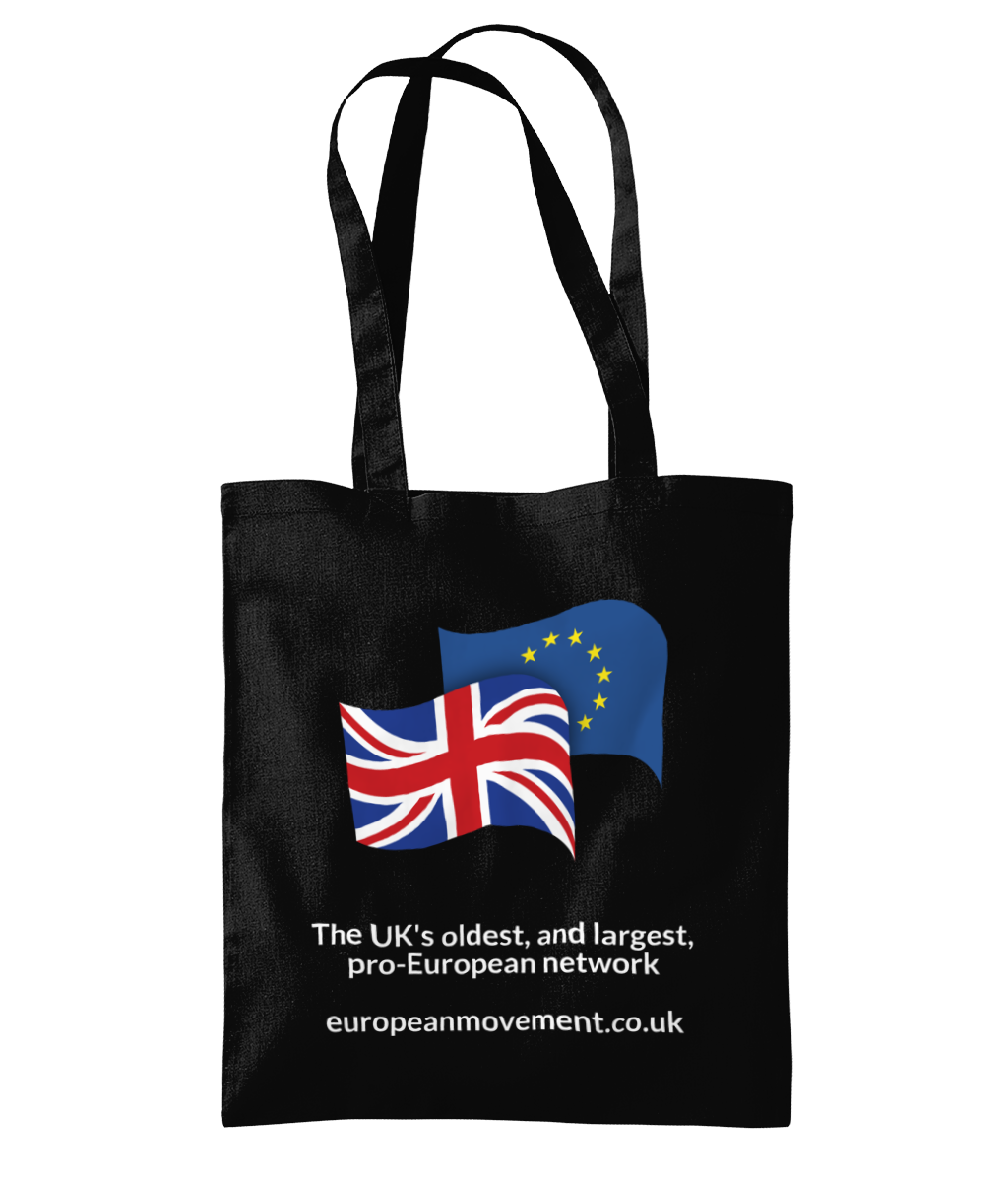 European Movement Tote Bag (Black)