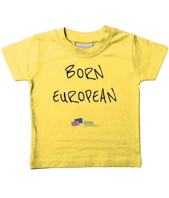 Born European Baby T-Shirt in various colours