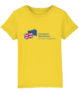 European Movement Kids T-shirt (unisex) in various colours (v2)