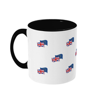European Movement Flags Two-Colour Mug