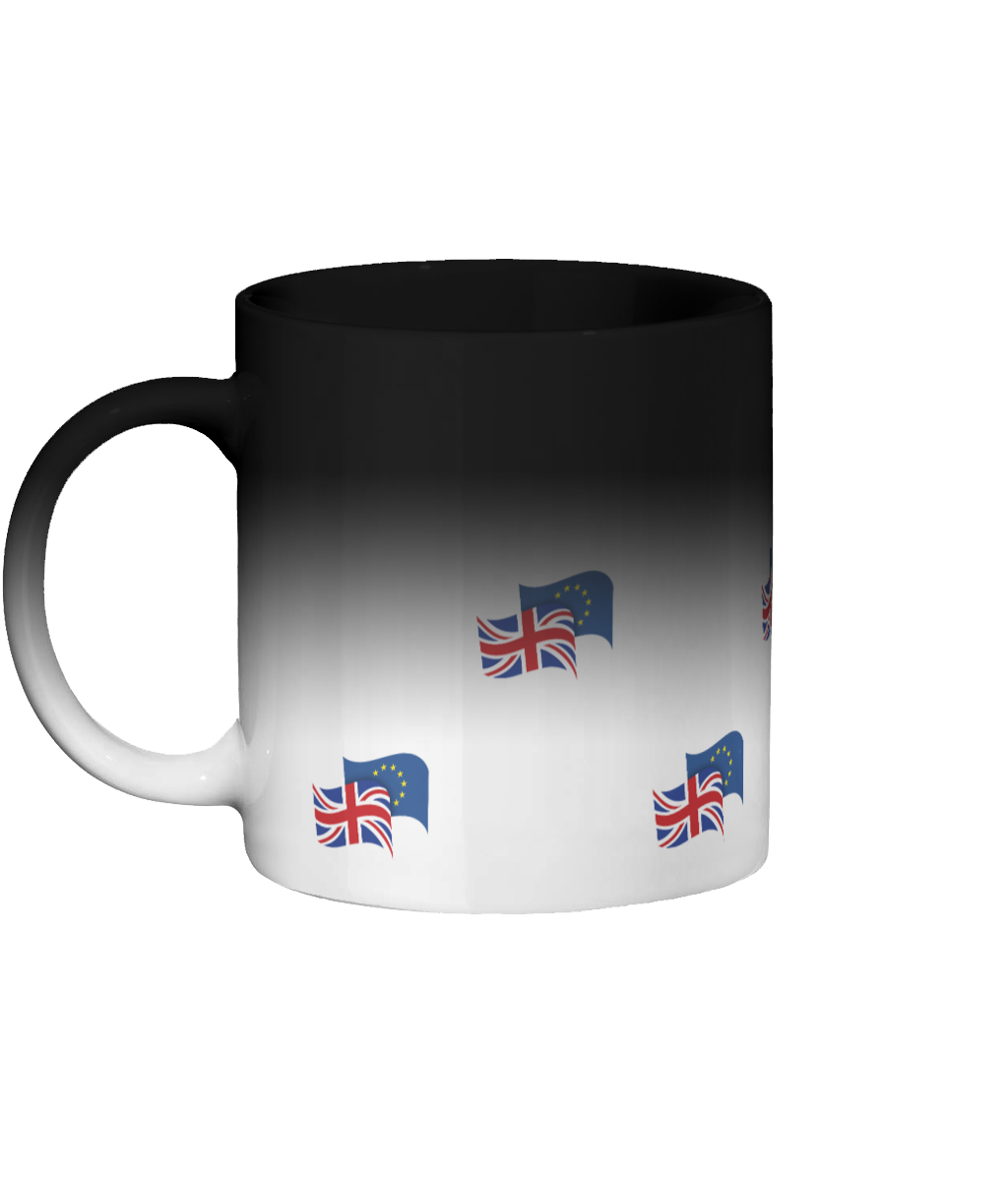 Colour Changing Ceramic Mug (flags)