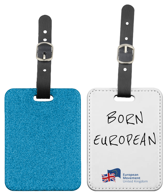 Born European Luggage Tag