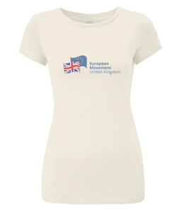 European Movement Ladies T-shirt (slim fitted) in various colours (v2)