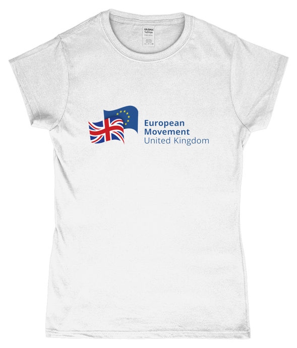 European Movement Ladies Fitted T-Shirt (various colours)