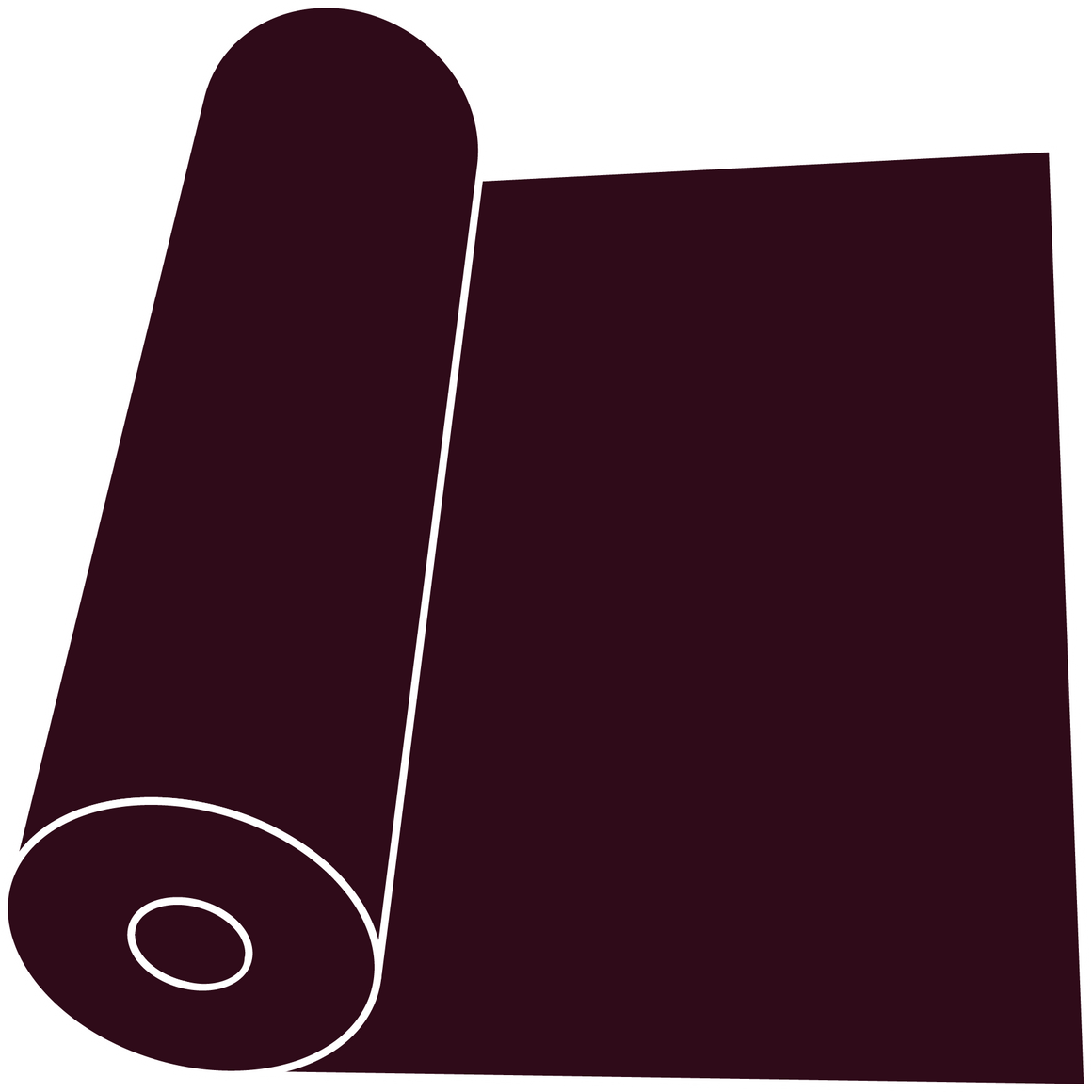 "Dark Maroon 15"" Roll"