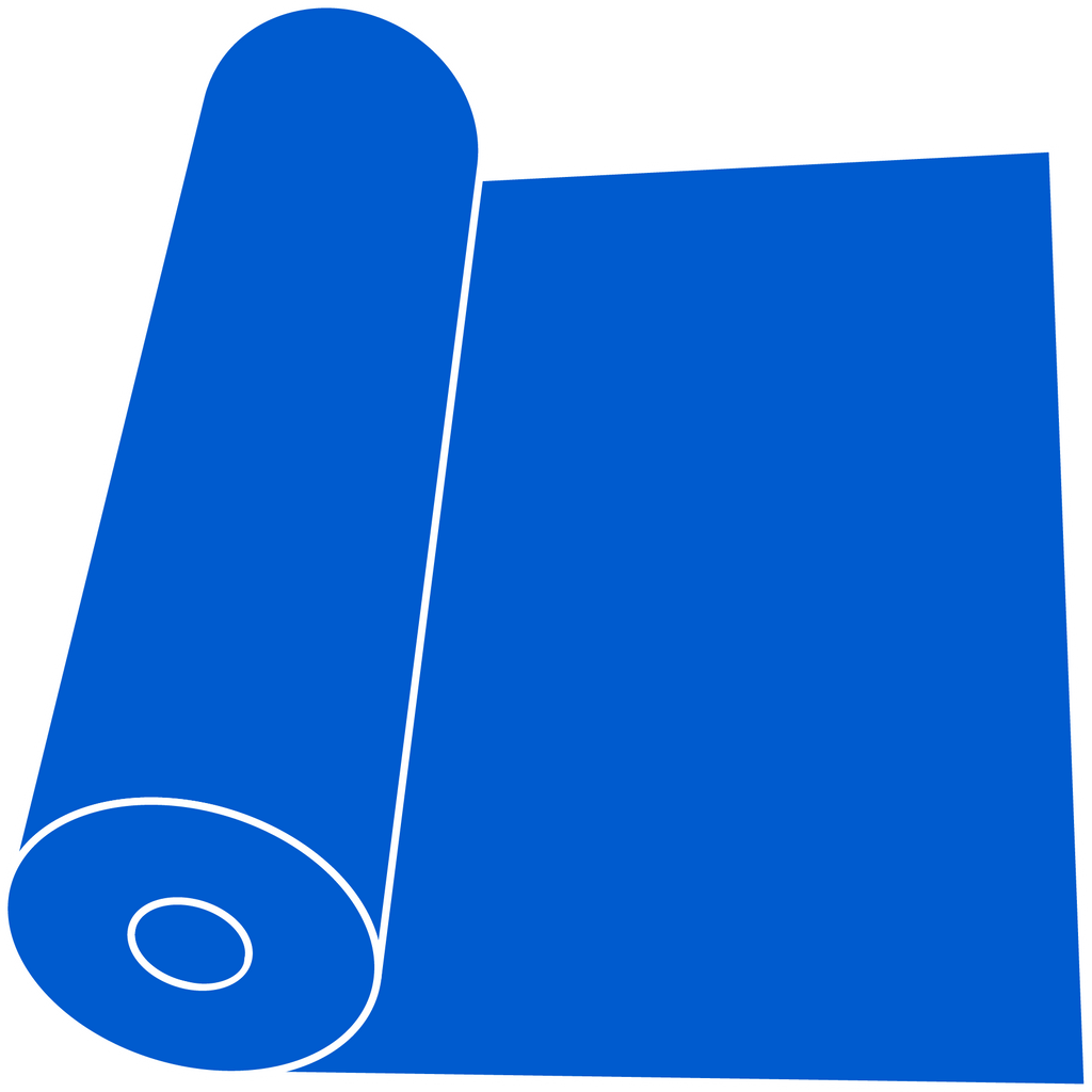"Fluorescent Blue   15"" Roll"