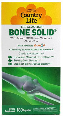Bone Solid - 180 Capsules