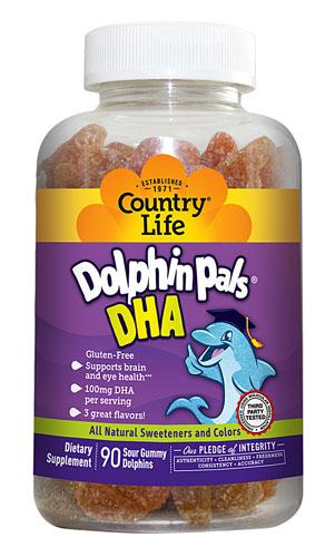 Dolphin Pals DHA for Kids - 90 Gummies