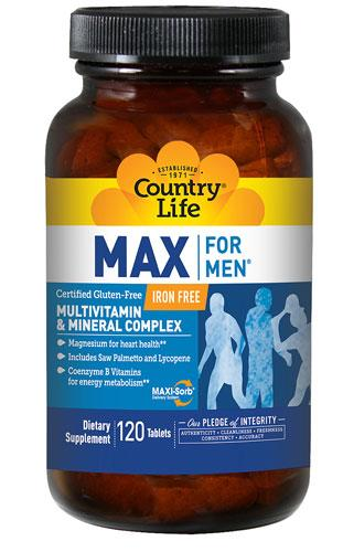 Max For Men - 120 Tablets