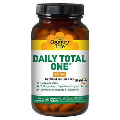 Daily Total One No Iron - 60 Vegetarian Capsules