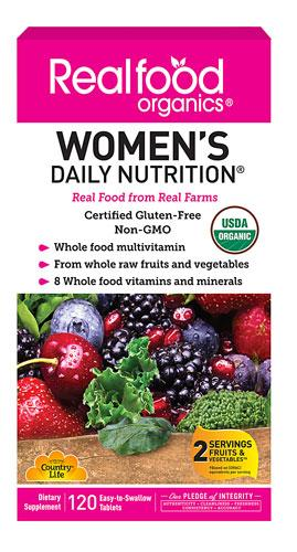 Women's Daily Nutrition - 120 Tablets