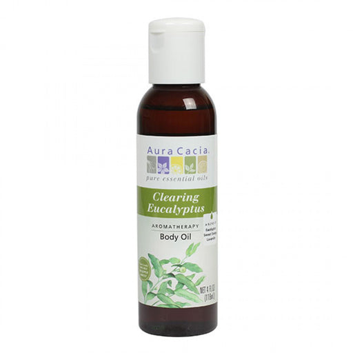 Clearing Eucalyptus Body Oil - 4 oz