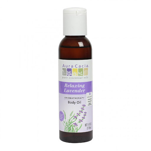 Relaxing Lavender Body Oil - 4 oz