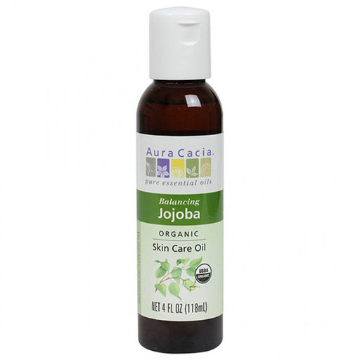 Jojoba Organic Skin Care Oil - 4 oz