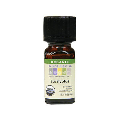 Eucalyptyus Organic Essential Oil - .25 oz