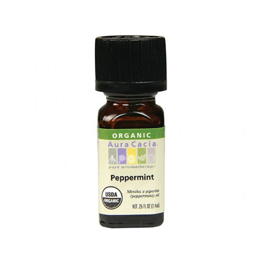 Peppermint Organic Essential Oil - .25 Oz
