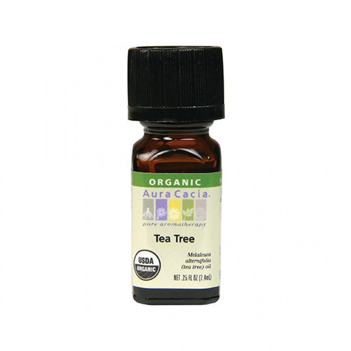 Tea Tree Organic Essential Oil - .25 oz