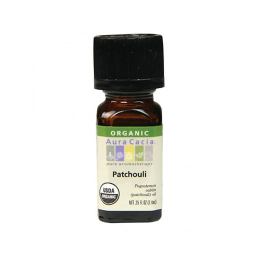 Patchouli Organic Essential Oil - .25 oz