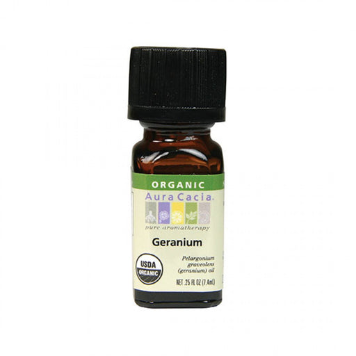 Geranium Organic Essential Oil - .25 oz