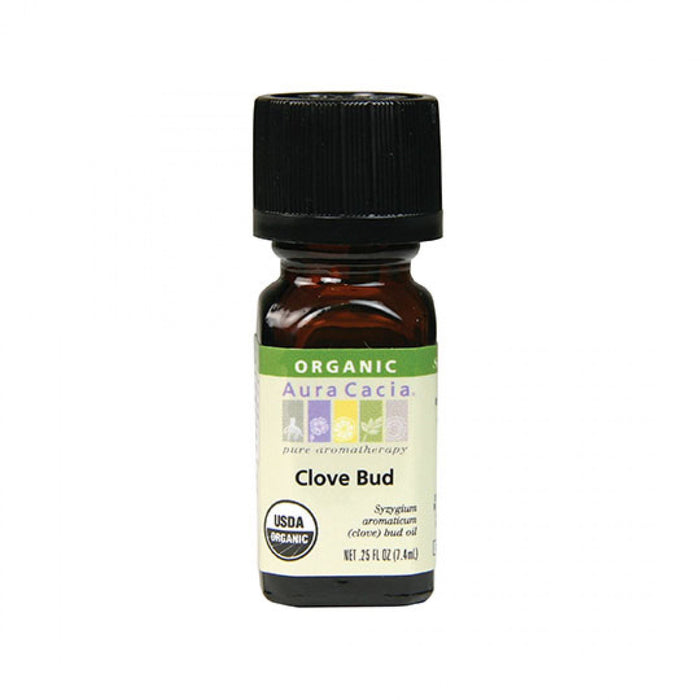 Clove Bud Organic Essential Oil - .25 oz