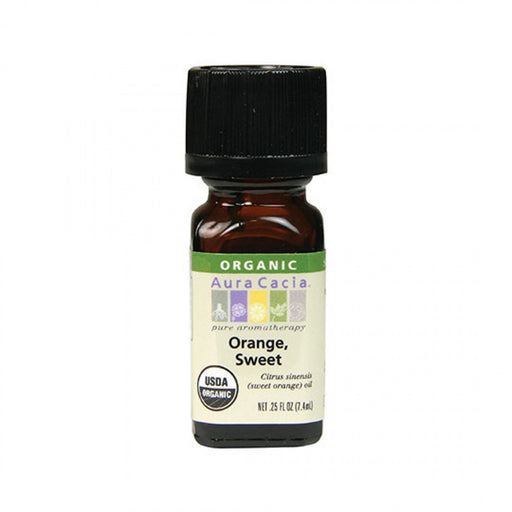 Sweet Orange Organic Essential Oil - .25 oz