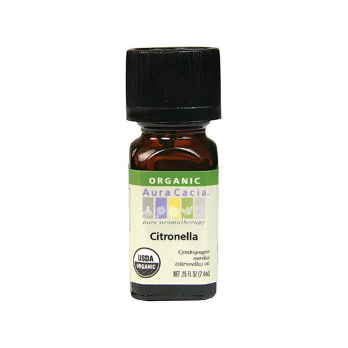 Citronella Organic Essential Oil - .25 oz
