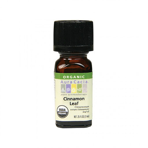 Cinnamon Leaf Organic Essential Oil - .25 oz