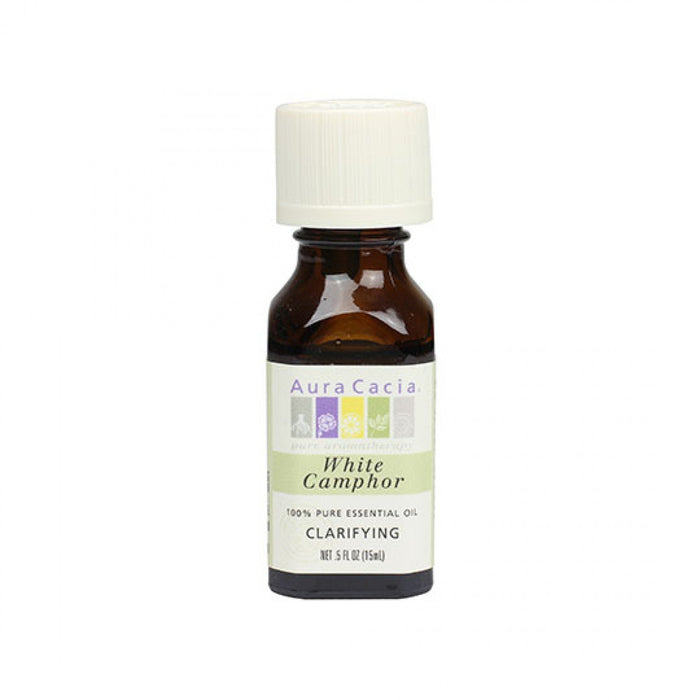 White Camphor Essential Oil - .5oz