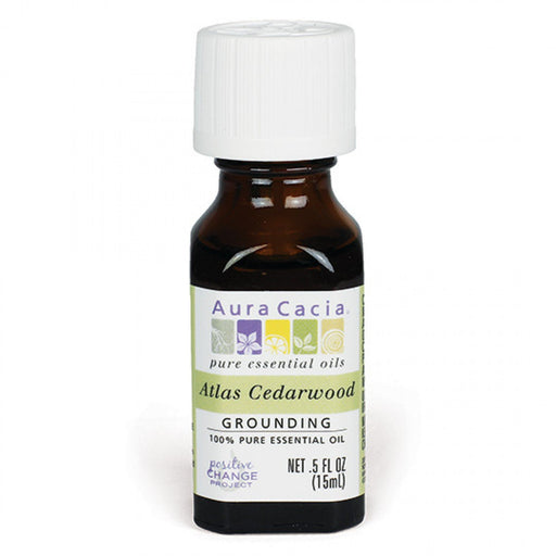 Atlas Cedarwood Essential Oil - .5 fl oz