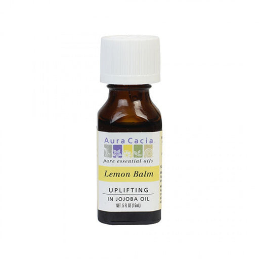 Lemon Balm in Jojoba - .5 oz