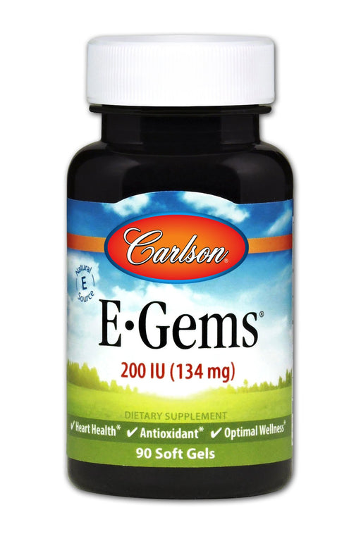 E-Gems 200 IU - 90 Softgels