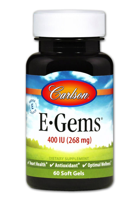 E-Gems 400 IU - 200 Softgels