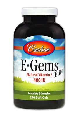 E-Gems Elite 400 IU - 240 Softgels