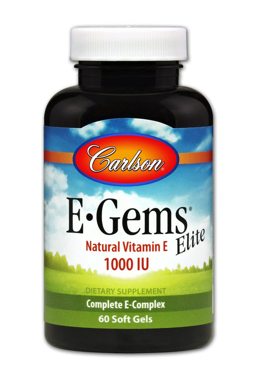 E-Gems Elite 1000 IU - 60 Softgels