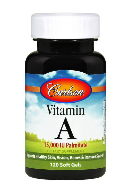 Vitamin A Palmitate 15000 IU - 120 Softgels