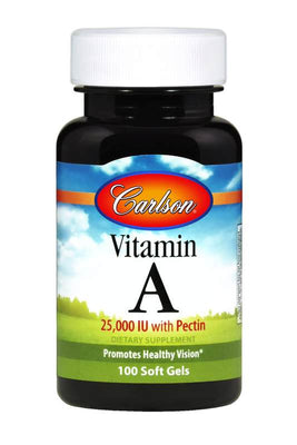 Vitamin A with Pectin - 100 Capsules