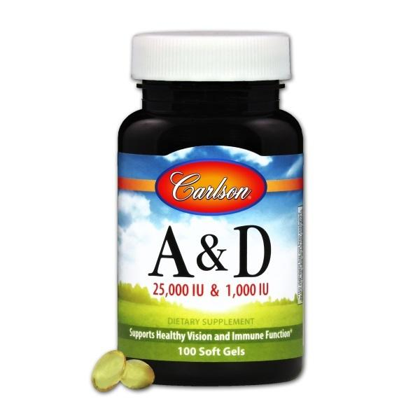 Vitamin A & D - 100 Softgels