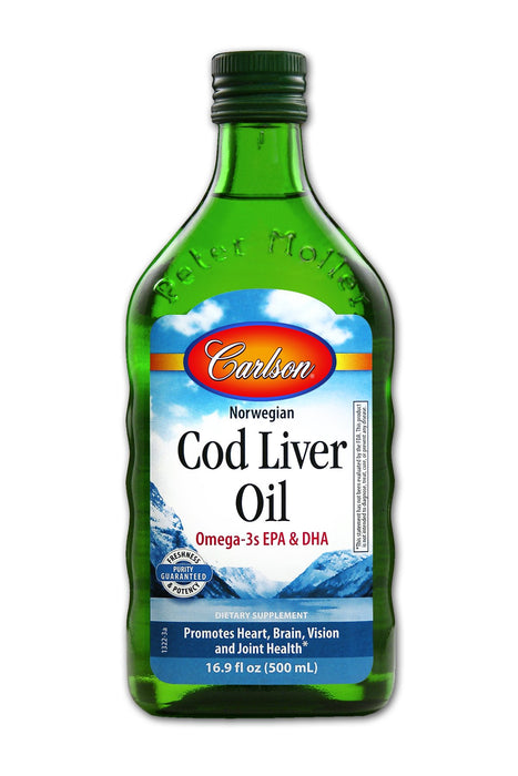 Cod Liver Oil Regular Flavor - 500 ml