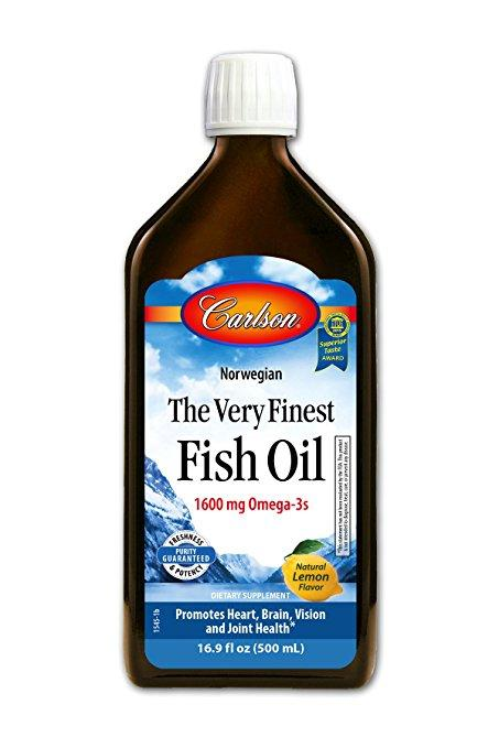 Finest Fish Oil Omega 3 - 500 ml