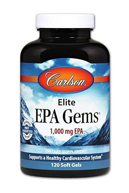 Elite EPA Gems - 120 Softgels