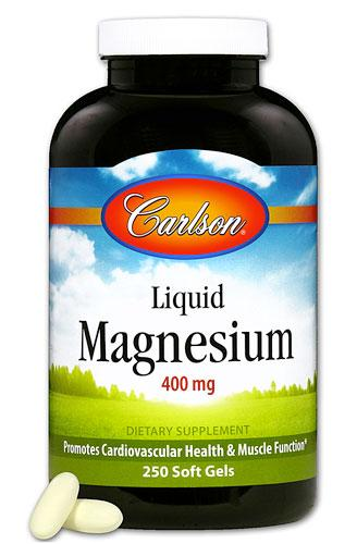 Liquid Magnesium 400 mg - 250 Softgels