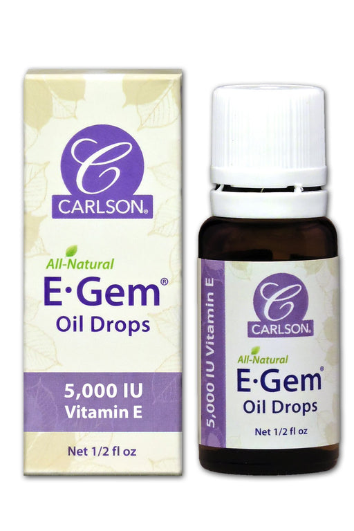 E-Gem Oil Drops - 1/2 oz