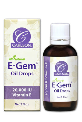 E-Gem Oil Drops - 2 oz